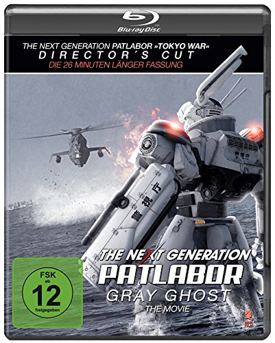 The Next Generation: Patlabor - Gray Ghost - The Movie  (+ Bonus-DVD) [Blu-ray] [Director's Cut] [Special Edition]