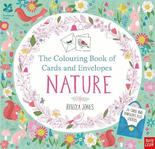 The National Trust: Colouring Book of Cards and Envelopes: Nature (Colouring Books of Cards and Envelopes) par Rebecca Jones
