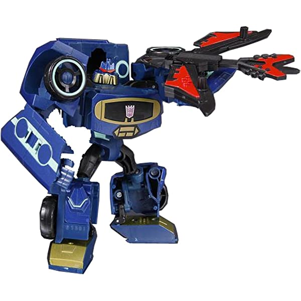 Transformers Animated Deluxe Figure Electrostatic Soundwave Hasbro 0653569379348