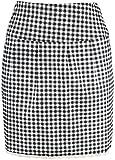 Edler Retro Pepita Lace 50s Pin Up Pencil Skirt / Rock