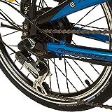 REMINGTON Faltrad Urban Folder 20 Zoll  E-bike Klapprad Pedelec StVZO, Farbe:blau - 5