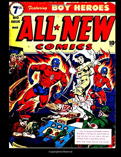 All New Comics #7: Featuring Boy Heroes 1944