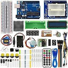 TBS2650 - Advanced Arduino Starter Kit - con scheda UNO R3 - con guida e lezioni
