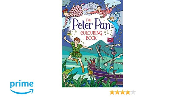 The Peter Pan Colouring Book (Buster Activity): Amazon.co.uk: Ann ...
