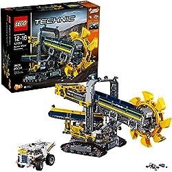 Lego Technic 42055 - Set Costruzioni, Escavatore da Miniera