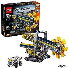 Idea Regalo - Lego Technic Technic Escavatore da Miniera Costruzioni Piccole Gioco Bambina Giocattolo 519, Colore Vari, 42055