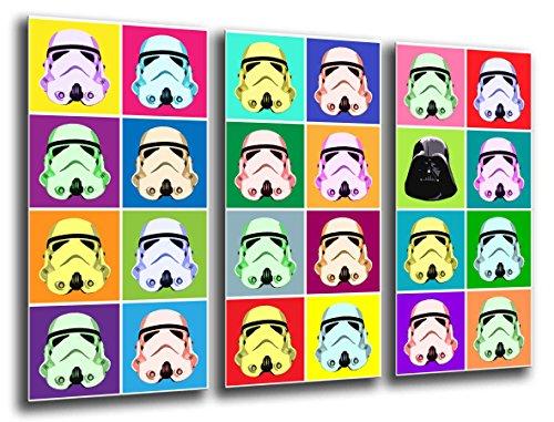 Cuadro fotografico base madera, 97 x 62 cm, Ejercito Darth Vader, Star Wars ref. 26023