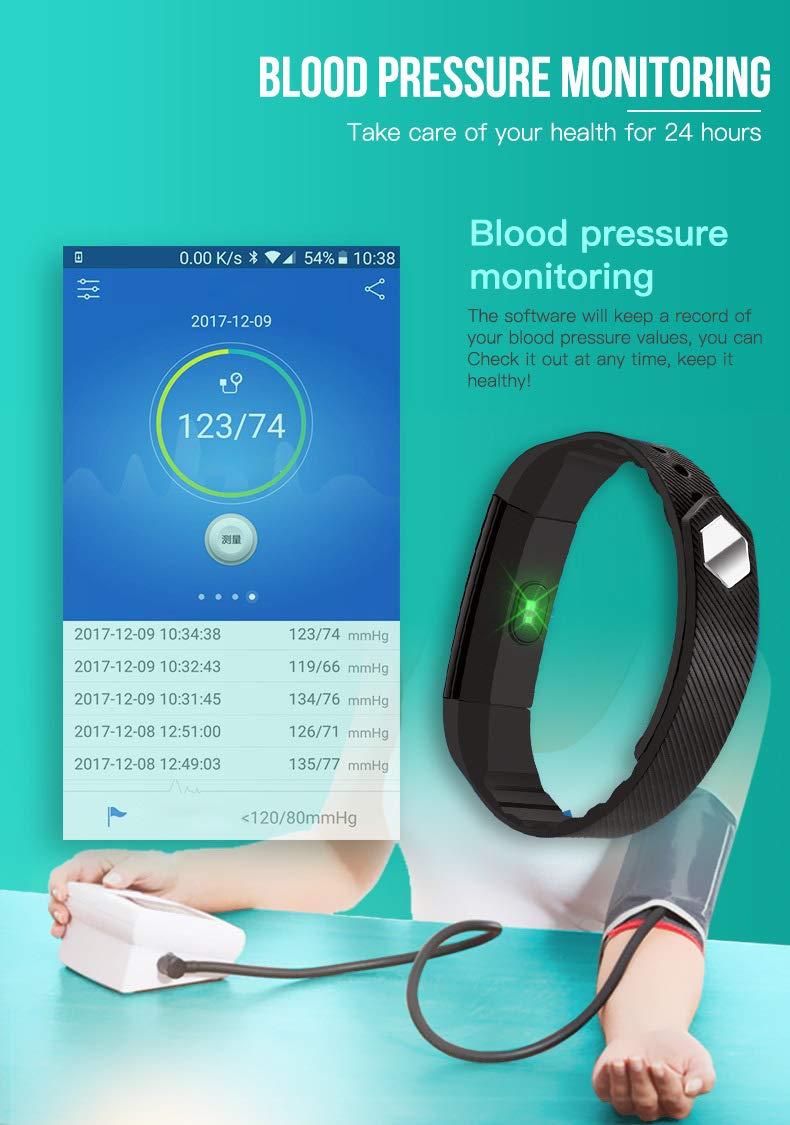 Forme Pulsera de Actividad I Monitor de Actividad Pantalla a Color I Reloj Inteligente I Pulsómetro Presión Sanguínea I… 5