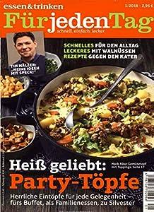 Essen Und Trinken Zeitschrift essen trinken für jeden tag jahresabo amazon de zeitschriften