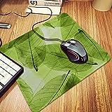 AURORBOY Herbst Transparent Blätter Muster Laptop Gaming Mouse Pad Große Anti-Slip Tastatur Pad Schreibtisch Matte Für Dota Gamer