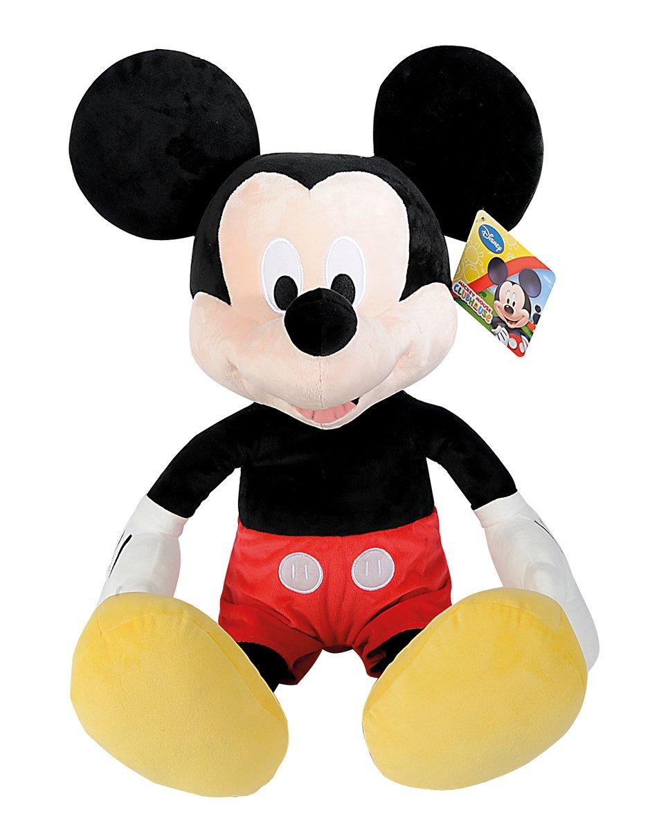 Simba 6315878712 Disney La Casa de Mickey – Peluche de Mickey básico (80 cm)