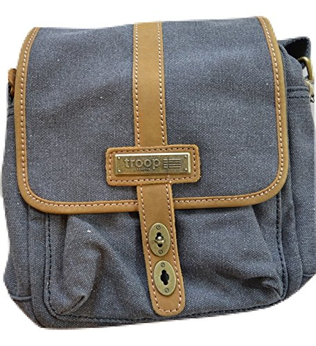 Troop London La nouvelle Ville Bag-charcoal
