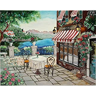 YH-Arts 11x14 Table with A View, Multicolour, 35x28x1 cm