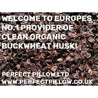 Cojines, almohadas de meditación Carena de cáscara de sarraceno) orgánico () - Peluches para rellenar, colchones, etc - Compruebe el ...
