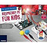 Der kleine Hacker: Die große Baubox Raspberry Pi für Kids: LED-Würfel, verrückte Farbenspiele, Discolicht und vieles mehr programmieren und mit Knete steuern.