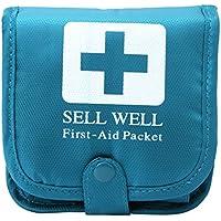 Dabixx Outdoor Camping Hause Überleben Tragbare Erste-Hilfe-Tasche Medizin Pillendose Blau preisvergleich bei billige-tabletten.eu