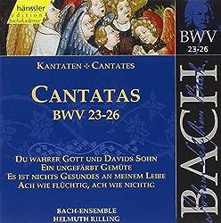 Bach: Cantatas, Bwv 23-26 (Edition Bachakademie Vol 8) Rilling