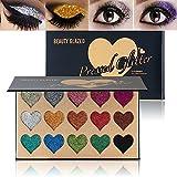 WSX Kit palette di colori per palette di 15 colori glitter palette di colori per gli occhi