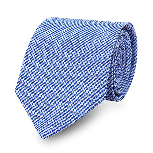 Expresstech @ Classic de hombre corbata 8CM business professional para la oficina eventos festivos Wedding Hombre de Negocios Matrimonio Fiesta Boda -Azul claro