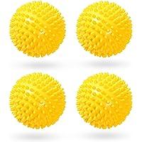 4 Stücke Trockner Ball,Trocknerkugeln Duft,Trocknerbälle für Wäschetrockner,Kugeln für Flauschigere Wäsche…