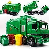 SHANDP ENFANTS Camion Poubelle enfants Toys inertie Assainissement véhicule de camion avec les poubelles