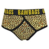 BawBags Leopard Y Fronts - Yellow