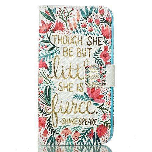 PU Cuir Coque Strass Case Etui Coque étui de portefeuille protection Coque Case Cas Cuir Swag Pour Apple iPhone 6 (4.7 pouces)+Bouchons de poussière (6SN) 4