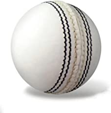 Fabulous 4 Piece Leather Cricket Ball White (80+ Over)