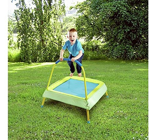 *Stretch-Tech Kinder Trampolin Chad Valley 3 Ft – Grün.*