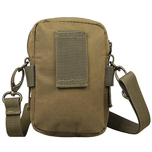 xhorizon TM taktischer Militaer-/ Nothilfe-/ medizinischer Sack (Molle), wasserdichte taktische EDC Tasche(Molle) (Huefte/ Gurt) #2