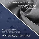 CAMTOA® ultraleicht, klein, warm Schlafsack Hüttenschlafsack, Outdoor Wasserdicht Camping Sleeping Bag Sommerschlafsack Blau - 5