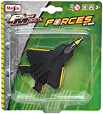 Maisto F/A-22 Raptor Aeroplane Die Cast Toy Model (Black)