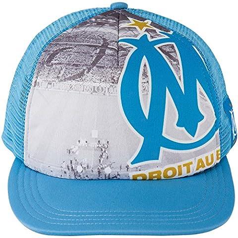 Casquette plat OM - Collection officielle Olympique de MARSEILLE -
