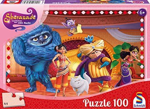 Schmidt Puzzle 56185 Sherazade – Histoires en 1001 Nuits, dans la salle du trône de Golden City, 100 Pièces | Terrific Value
