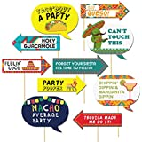 Let's FiestaMexican Fiesta Party Photo Booth Props10 Piece