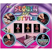 Sequin Art Style Mannequin - Quadri da comporre con paillettes, soggetto: Moda