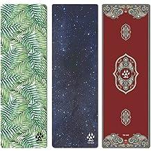 Yogi-Bare® lujoso yoga studio mat con toallas de microfibra para yoga caliente viaje lavable a máquina / / empuñadura que se adapta a su práctica (rosa)