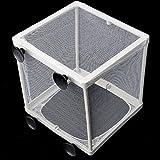 soviton Acuario Fish Tank Net Criador pescado trampa de gasa bebé caja de aislamiento