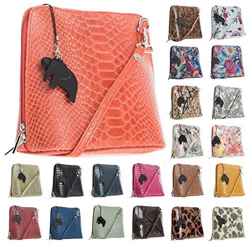 Big Handbag Shop, Borsa a tracolla donna Taglia unica Leopard Big - Beige