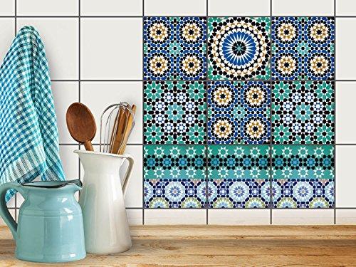 Stickers design piastrelle decorazione d´interni | Piastrelle ...