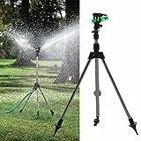 #9: High Quality Tripod Impulse Sprinkler Pulsating Telescopic Watering Lawn Yard and Garden Lawn Farmland Plant Irrigation kit