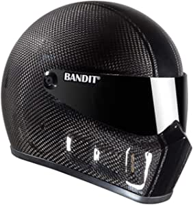 Motorcycle Clothing Girls Bandit Full Face Helmet Super Street 2 Carbon Without Ece Carbon Auto