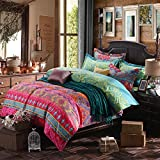 Best FADFAY Beddings - FADFAY Brand Colorful Exotic Bohemian Duvet Covers Queen Review