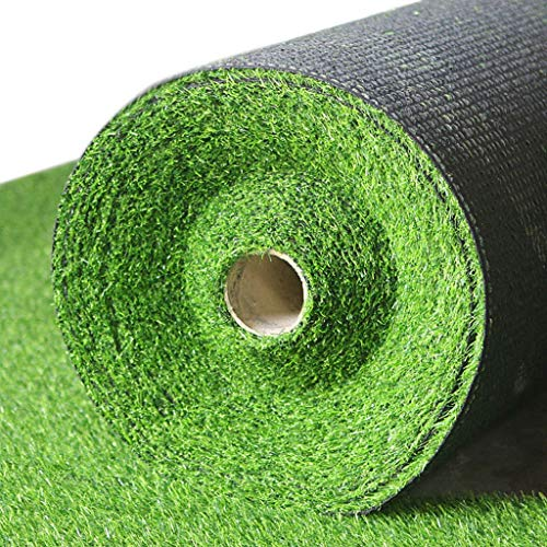 Erba artificiale, Zolla Lush Disco Pet Erba Sintetica Tappeto erboso Falso for Interni Esterni Patio Decor Molti Formati (Size : 2x2m)