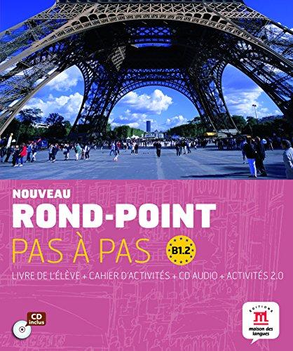 Nouveau Rond-Point pas à pas B 1.2 - 9788468321585 por Difusión