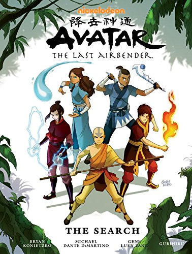 Avatar-The-Last-Airbender-The-Search-Library-Edition-Avatar-The-Last-Airbender-Dark-Horse