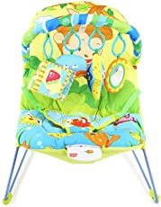 Luvlap Go fishing Baby Bouncer with soothing vibration and Music (Multi Color)