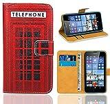 Microsoft Lumia 640 / 640 Dual SIM Handy Tasche, FoneExpert® Wallet Case Flip Cover Hüllen Etui Ledertasche Lederhülle Premium Schutzhülle für Microsoft Lumia 640 / 640 Dual SIM (Pattern 12)