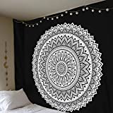 qszs Mandala Indien Tapisserie Wandteppichen Bohemia Beach Polyester 200* 148cm
