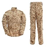 ALK Softair Paintball Tarn-Uniform Set, Jacke/Hose, Desert Digital, xl